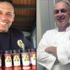 "Mark Givensel and Chef Greg ""Bonz"" Heath"