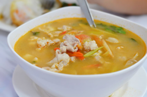 Spicy Chicken Soup using Lahaina Burst