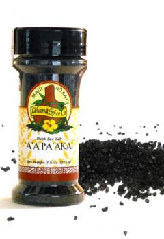 Black hawaiian Sea Salt - 'A 'A Pa 'Akai